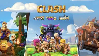 Három új játékkal bővül a Clash of Clans-univerzum kép
