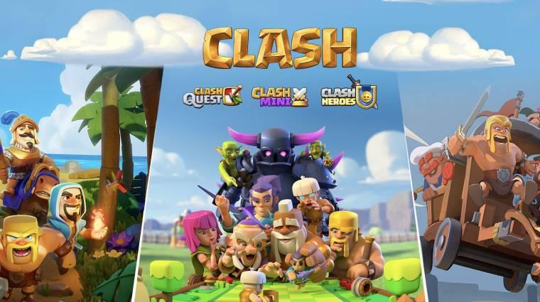 Három új játékkal bővül a Clash of Clans-univerzum bevezetőkép