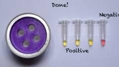 Elkészült a házi koronavírus-teszt, amely olyan egyszerű, akár a kávéfőzés kép