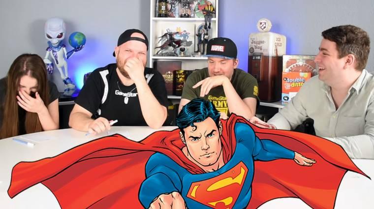 A Double Ditto társasjátékból derült ki, Kaci jól kijönne-e Supermannel bevezetőkép