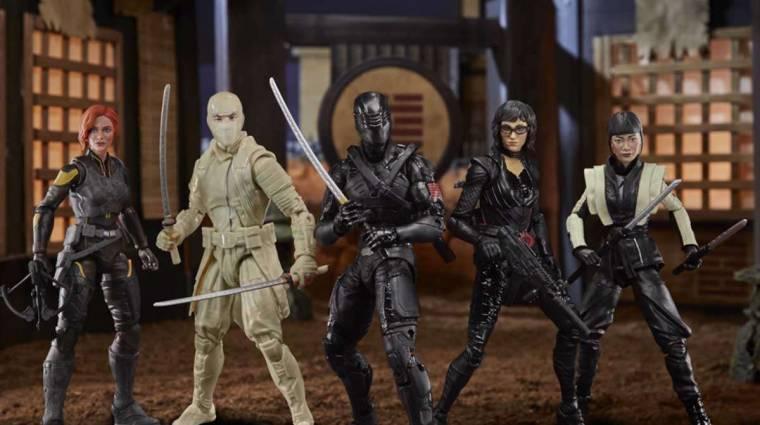 Az új G.I. Joe mozi Hasbro figurái elég sokat elárulnak a filmről bevezetőkép