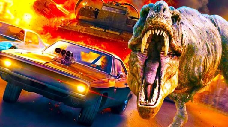 Halálos iramban és Jurassic World crossover - jöhet a család a dinók ellen? bevezetőkép