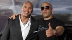 Dwayne Johnson nem kér Vin Diesel szeretetéből kép
