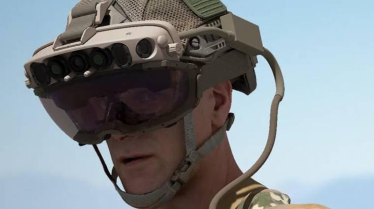 Zsíros HoloLens-üzletet kötött a Microsoft az amerikai hadsereggel kép