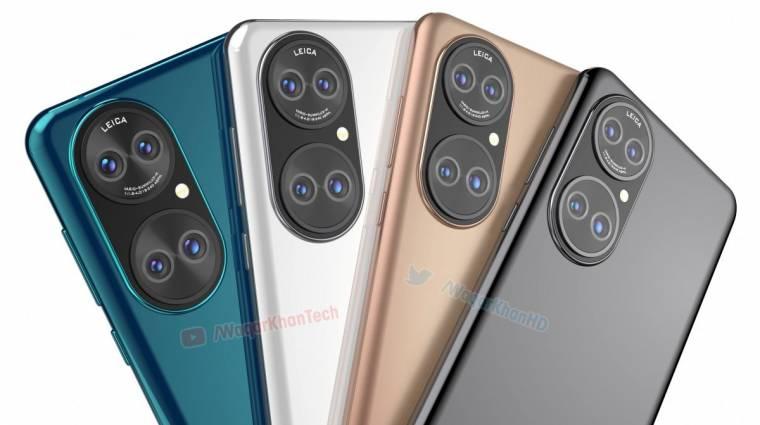 Egyre biztosabb, hogy így fog kinézni a Huawei P50 kép