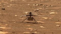 Hiba történt, nem tudott felszállni a NASA minihelikoptere a Marson kép