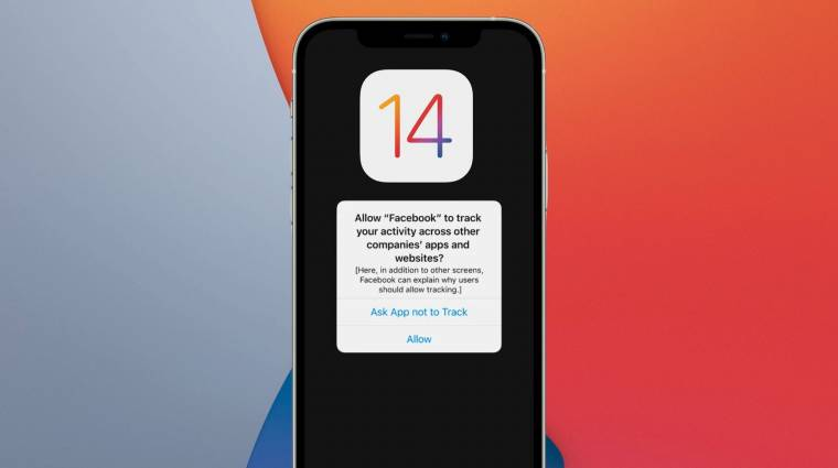 Szinte senki sem engedélyezi az appoknak a követést az új iOS-en kép