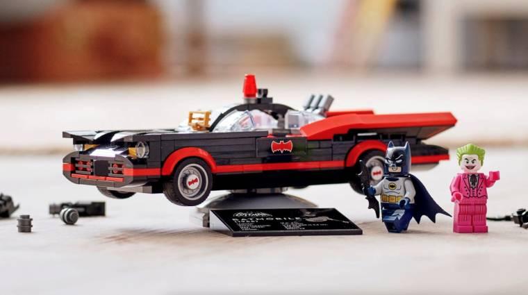 Az új LEGO Batmobil egyenesen a klasszikus Batman tévésorozatból gördült ki bevezetőkép