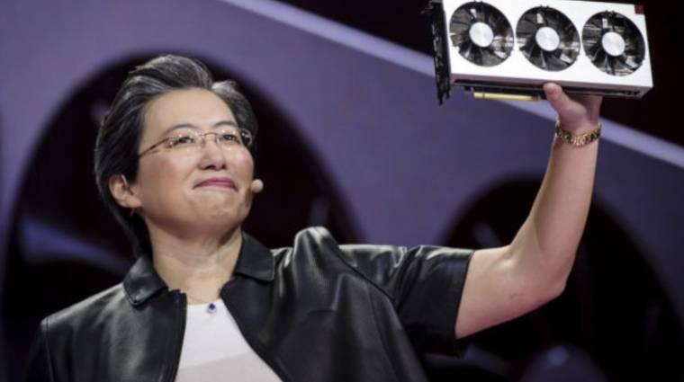 Az AMD vezetője a készlethiány közeli enyhülését jósolja kép