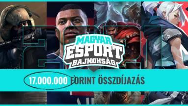 17 milliós összdíjazással indul a Magyar Esport Bajnokság, nevezz te is! kép