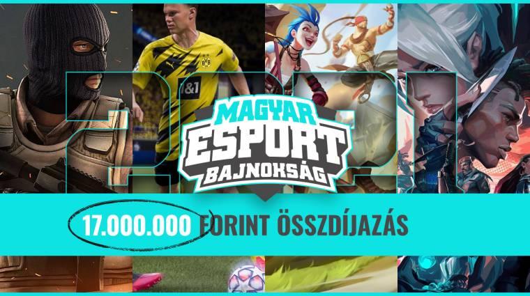 Így tudsz nevezni a Magyar Esport Bajnokságra - ne maradj le! bevezetőkép