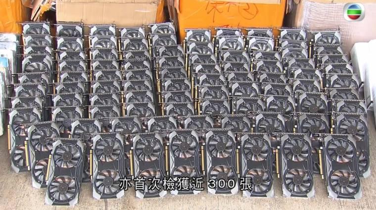 Motorcsónakos üldözést követően kapcsoltak le GPU-csempészeket Hongkongban kép