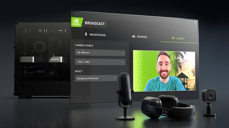 Zajtalanná teszi a streameket az Nvidia mesterséges intelligenciája kép
