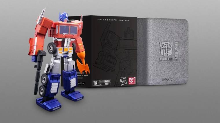 Itt egy Optimus Prime robot, ami magától átalakul, és persze nagyon drága bevezetőkép