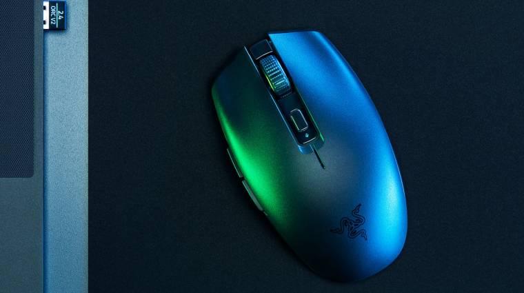 Laptopokhoz tervezett új gamer egeret a Razer kép