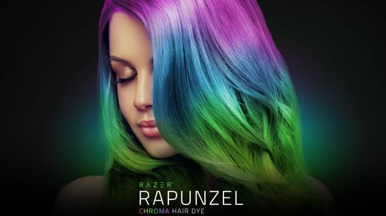 Tűnj ki a tömegből a Razer új, RGB-megvilágítású hajfestékével! kép