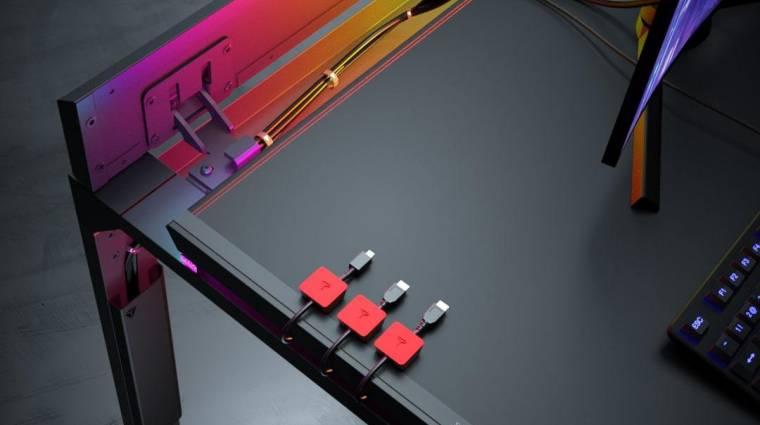 A Secretlab betört a gaming íróasztalok piacára kép