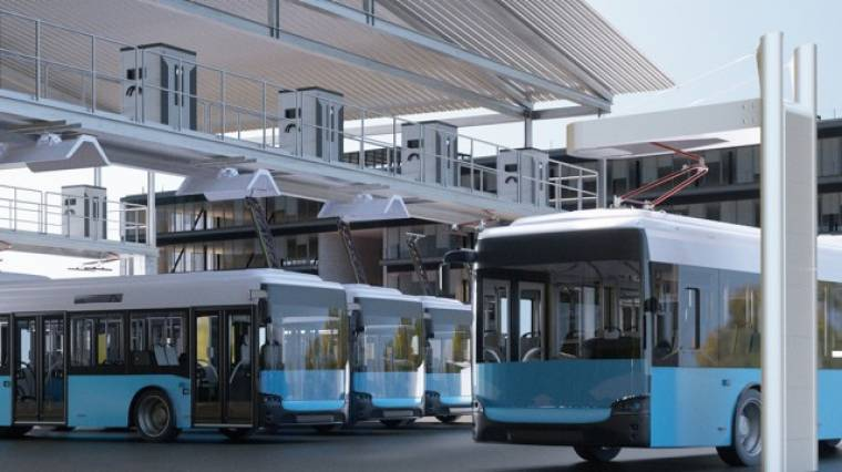Siemens runs its emission-free electric buses on infrastructure in Australia