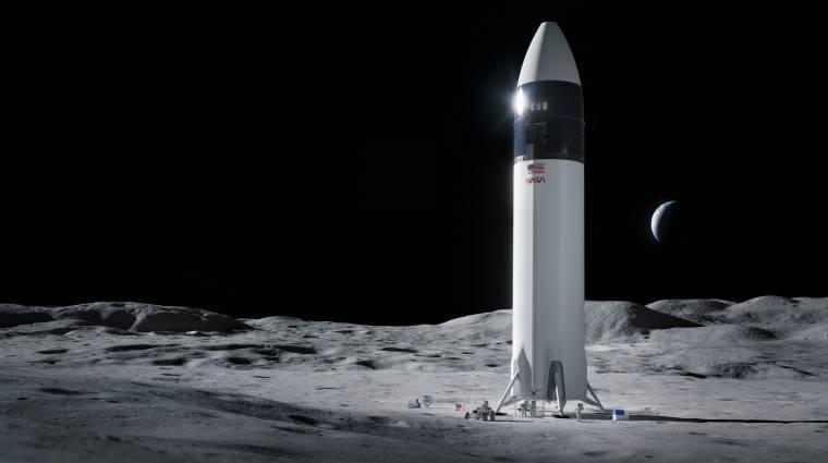 Megvan, ki épít űrhajót a NASA-nak, amivel újra embert juttatnak a Holdra kép