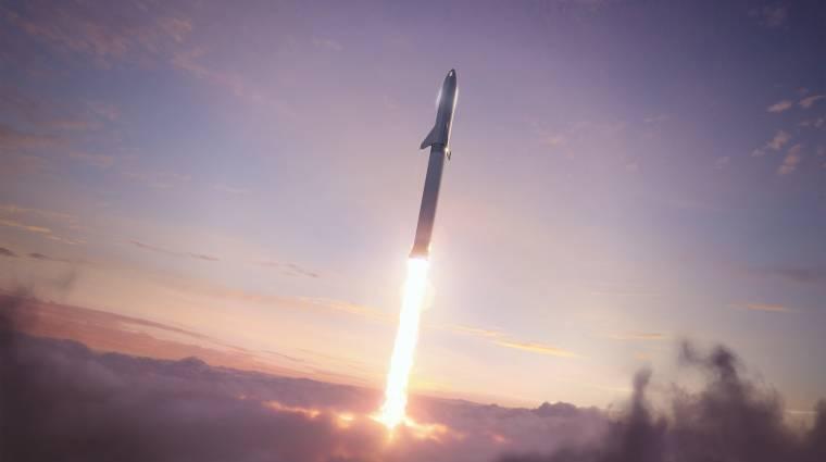 Elon Musk szerint akár az űrszemetet is begyűjtheti a SpaceX rakétarendszere kép