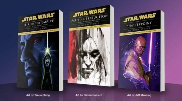 Ünnepel a Lucasfilm, ismét kiadnak néhány klasszikus Star Wars könyvet bevezetőkép