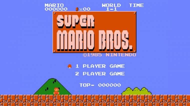Elképesztő világrekordot állítottak be a NES-es Super Mario Bros.-ban bevezetőkép