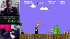 Egy Super Mario speedrunner bekötött szemmel döntötte meg a világrekordot kép