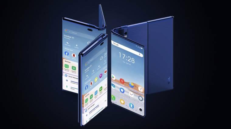 A TCL új koncepciója egyszerre lenne mobil, phablet és táblagép kép