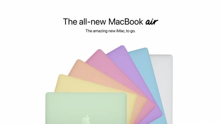 Kiszivároghatott az idei Macbook Air felfrissített külseje kép