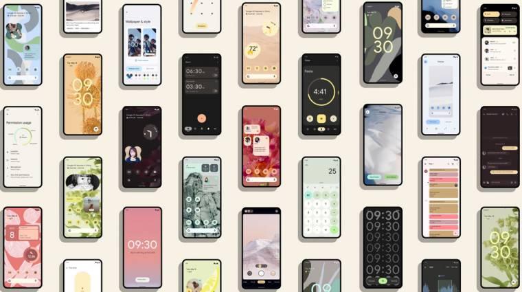 Elindult az Android 12 béta kép