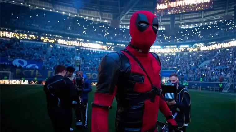 Deadpool jelmezben vette át bajnoki aranyérmét egy orosz focista bevezetőkép