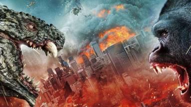 Hamarosan érkezik az Asylum-féle koppintás a Godzilla vs. Kongról kép