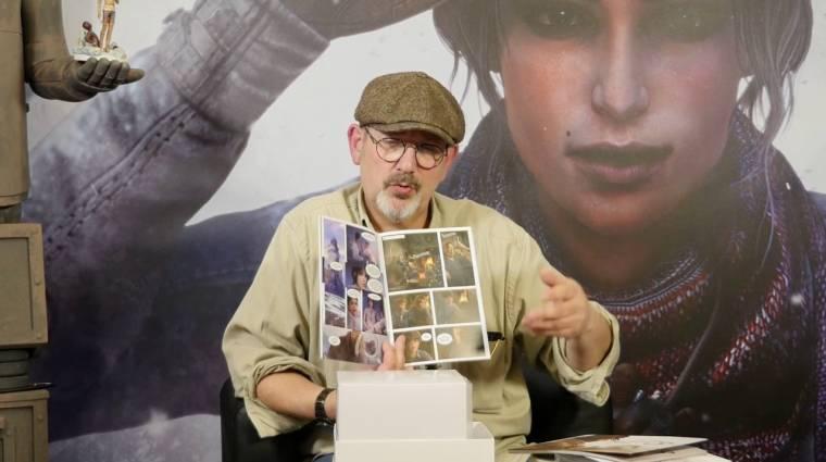 Elhunyt Benoît Sokal, a Syberia játékok atyja bevezetőkép