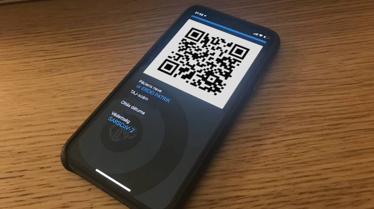 Elérhető a védettséget igazoló mobilapp kép