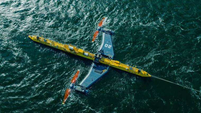 The world's most powerful tidal turbine will begin charging energy into the grid