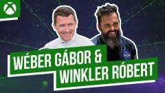 Wéber és Winkler a virtuális pályán - Game Pass Online Fesztivál 3. nap kép