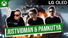 Pamkutya & JustVidman a harcmezőn - Game Pass Online Fesztivál 16. nap kép