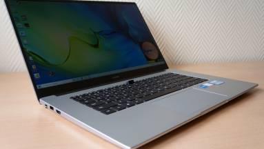 Huawei MateBook D15 teszt – a mutatós külső messze nem minden kép