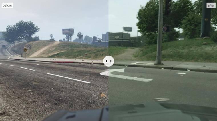 Döbbenetes, ahogy a GTA 5 egészen fotórealisztikussá válik MI segítségével bevezetőkép