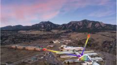 Lézerfésűvel mérik az elsődleges üvegházhatású gázokat a levegőben kép
