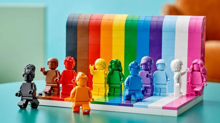 Az emberek sokszínűségét ünnepli a LEGO LMBTQ-témájú szettje bevezetőkép