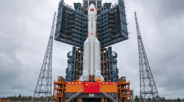 Csak remélni lehet, hogy nem fog lakott területre zuhanni az elszabadult kínai rakéta
