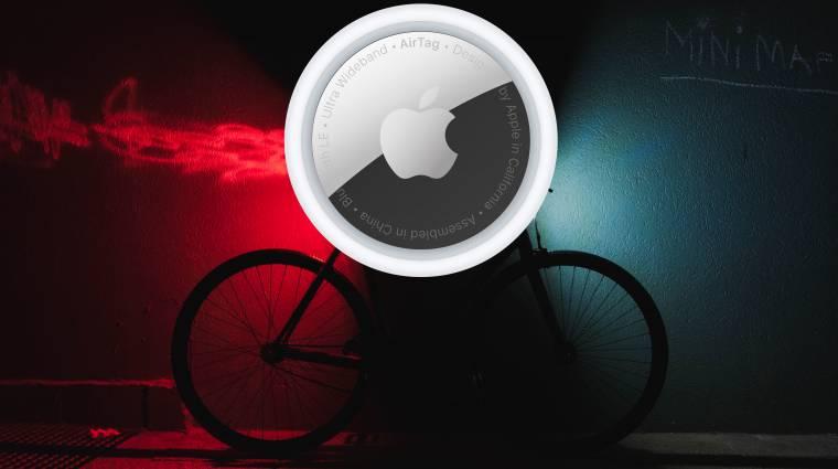 Az AirTaggel akadtak egy ellopott kerékpár nyomára kép