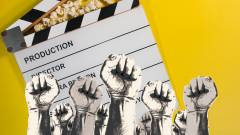 Sztrájkot hirdettek az amerikai filmesek, hosszú időre leállhatnak a forgatások kép