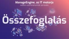 ManageEngine - az IT felügyelet rakétamotorja kép