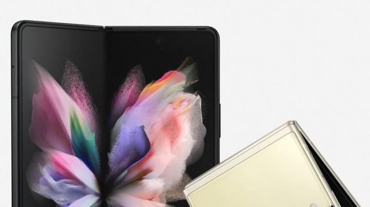 Hivatalos fotókon a Samsung új összehajtható mobiljai kép