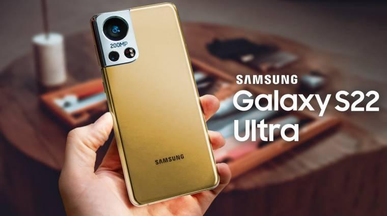 Mégsem kap 200 megapixeles kamerát a Samsung Galaxy S22? kép