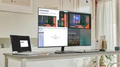 43 hüvelykes változatban is csábító a Samsung Smart Monitor kép