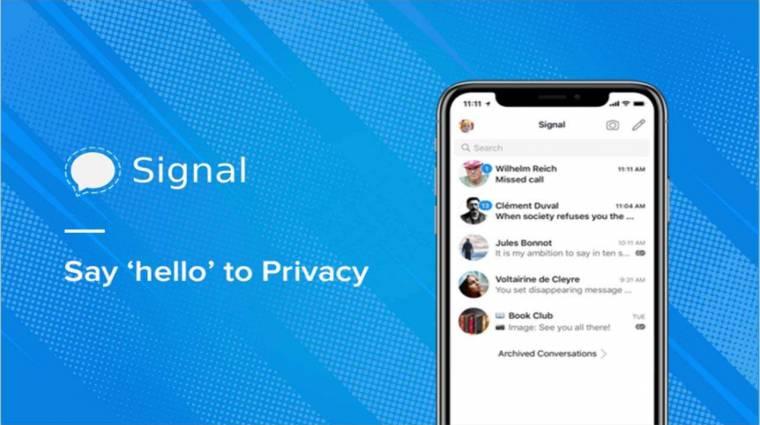 A Facebook azonnal leállította a Signal megrázóan őszinte reklámkampányát kép