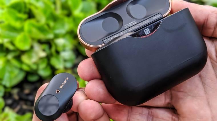 Így nézhet ki a Sony új vezetéknélküli fülhallgatója kép
